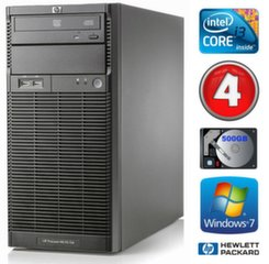 Lauaarvuti HP ProLiant ML110 G6 i3-550 4GB 500GB DVD WIN7Pro