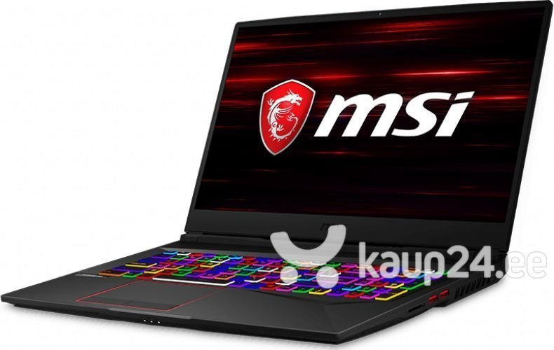 MSI GE75 Raider (8SE-272XPL) 8 GB RAM/ 512 GB M.2 PCIe/ 1TB HDD/ Windows 10 Pro