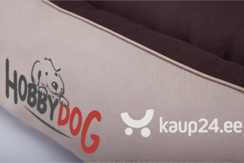 Lemmiklooma pesa Hobbydog Prestige XL, pruun kirjadega