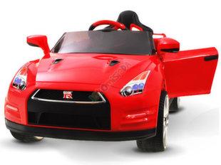 "Laste ühekohaline auto ""Nissan GTR R35"", punane"