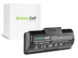 Green Cell Battery for iRobot Braava Jet 240 BC674 4446040 3.6V 3Ah hind ja info | Tolmuimejate akud | kaup24.ee