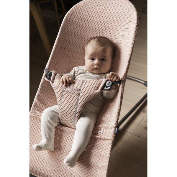 Lamamistool Babybjörn Bliss Pearly pink mesh