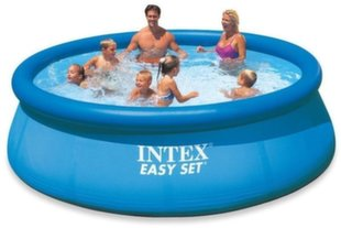 Bassein Intex Easy Set 396x84 cm, ilma filtrita