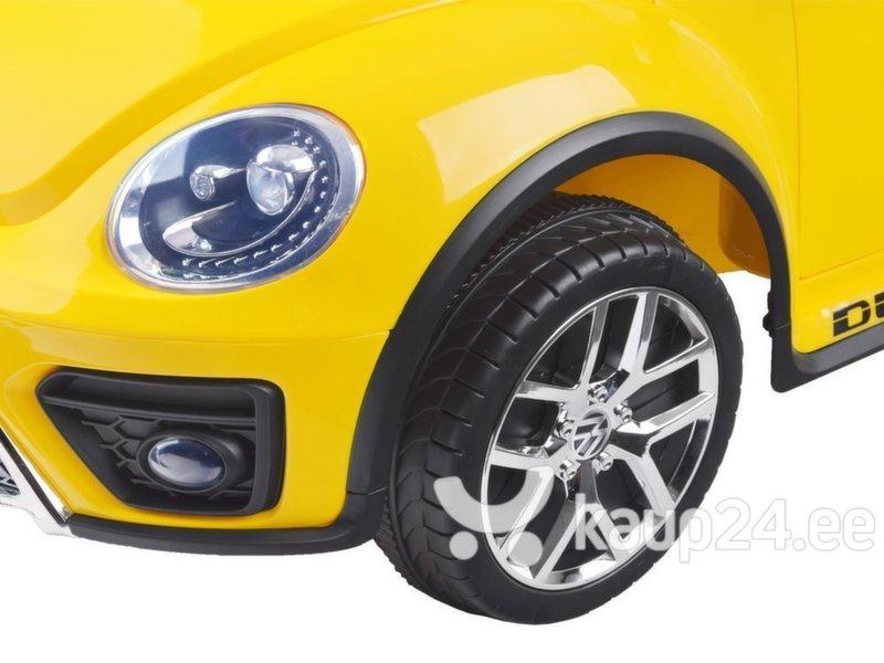 Kahekohaline elektriauto Volkswagen Garbus, kollane