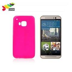 Forcell Jelly Back Case чехол для мобильного телефона HTC One M9, розовый