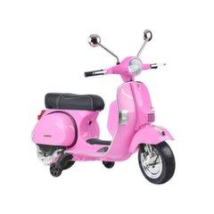 Ühekohaline motoroller Vespa, roosa