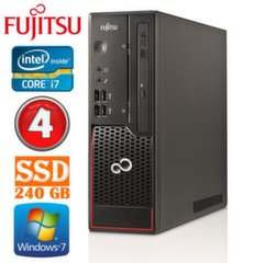 Lauaarvuti Fujitsu Esprimo C710 SFF i7-3770 4GB 240SSD DVDRW WIN7Pro