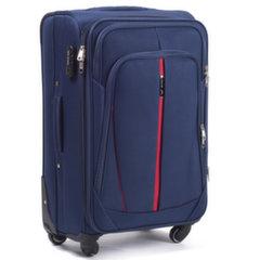 Keskmine kohver 4-rattaga Wings Buzzard, sinine hind ja info | Kohvrid, reisikotid | kaup24.ee