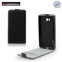 Kaitseümbris Forcell Flexi Slim Flip Samsung Galaxy A5 A500, Must