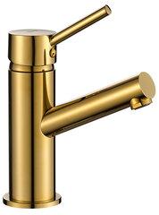 Valamusegisti REA Lumi low gold hind ja info | Valamusegisti REA Lumi low gold | kaup24.ee