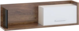 Seinariiul Meblocross Box 11, 1D, tumepruun/valge