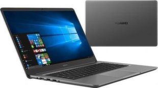 Huawei MateBook D (53010CEP) 8 GB RAM/ 256 GB M.2/ 1TB HDD/ Windows 10 Home
