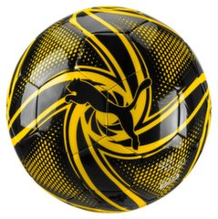 Футбольный мяч BVB Future Flare Fan Ball Puma Black-Cyb, 5 размер