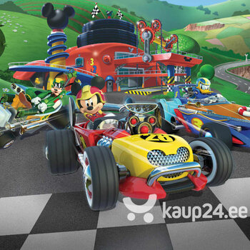 Fototapeet Disney Mickey Mouse Roadster Racer