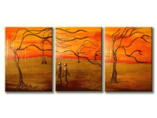 Kolmeosaline maal, puud, XL suurus