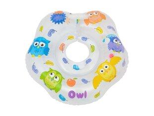 Kaela ujumisrõngas beebile Roxy Kids Flipper Owl hind ja info | Vannitooted | kaup24.ee