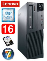 Lauaarvuti Lenovo ThinkCentre M82 SFF i3-2120 16GB 500GB WIN7Pro