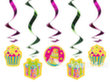 Riputatav dekoratsioon Sweets Mix, 60 cm, 1 karp/50 pk (1 pk/5 tk)