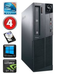 Lauaarvuti Lenovo ThinkCentre M82 SFF i3-2120 4GB 500GB GT710 2GB WIN10