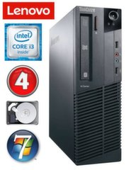 Lauaarvuti Lenovo ThinkCentre M82 SFF i3-2120 4GB 250GB WIN7Pro