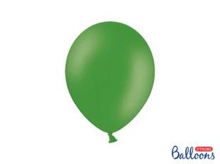 Tugevad õhupallid 27 cm Pastel, roheline, 50 tk.