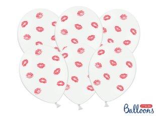 Õhupallid 30 cm Lips, punane, 50 tk.
