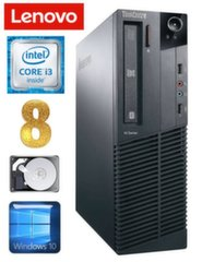 Lauaarvuti Lenovo ThinkCentre M82 SFF i3-2120 8GB 250GB WIN10