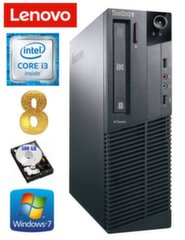 Lauaarvuti Lenovo ThinkCentre M82 SFF i3-2120 8GB 500GB WIN7Pro