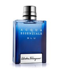 Tualettvesi Salvatore Ferragamo Acqua Essenziale Blu EDT meestele 50 ml