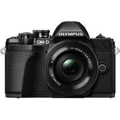Digitaalkaamera Olympus OM-D E-M10 Mark III + ED 14‑42mm EZ PANCAKE Black (Double kit box) hind ja info | Fotoaparaadid | kaup24.ee
