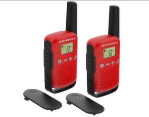 Motorola T42RED, Punane hind ja info | Raadiosaatjad | kaup24.ee