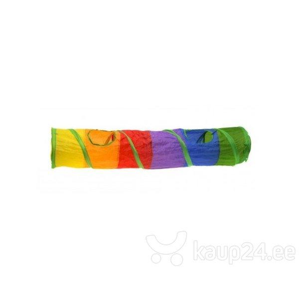 Värviline tunnel Comfy, 120 cm hind ja info | Dresseerimise vahendid koertele | kaup24.ee