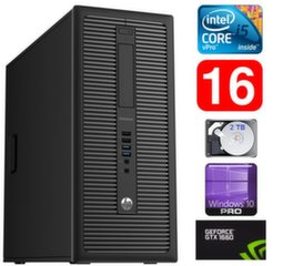 HP 600 G1 MT I5-4590 16GB 2TB GTX1660 6GB WIN10Pro
