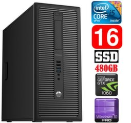 HP 600 G1 MT I5-4590 16GB 480SSD GTX1060 6GB WIN10Pro