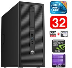 HP 600 G1 MT I5-4590 32GB 480SSD+1TB GTX1660Ti 6GB WIN10Pro