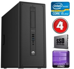 HP 600 G1 MT I5-4590 4GB 120SSD WIN10Pro
