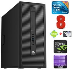 HP 600 G1 MT I5-4590 8GB 120SSD+2TB GTX1660Ti 6GB WIN10Pro