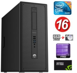 HP 600 G1 MT I5-4590S 16GB 240SSD+1TB GTX1660 6GB WIN10Pro