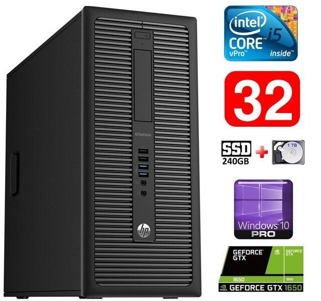 HP 600 G1 MT I5-4590S 32GB 240SSD+1TB GTX1650 4GB WIN10Pro