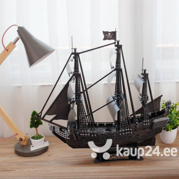 3D pusle CubicFun Queen Anne's Revenge The Blackbeards Ship LED, 340-osaline tagasiside
