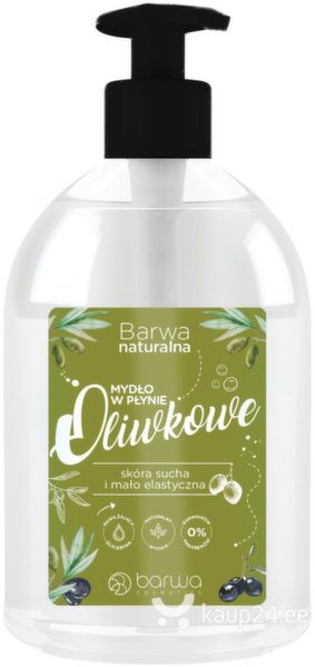 Vedel käteseep Barwa Natural 500 ml