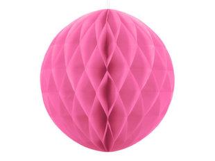 Kärgpall, roosa, 30 cm, 1 tk hind ja info | Peokaunistused | kaup24.ee