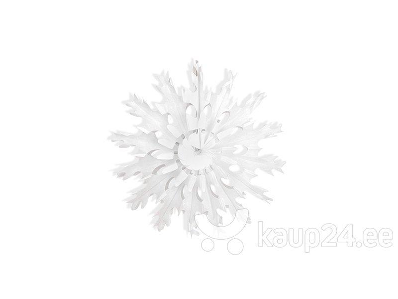 Подвесные украшения-веера, белые, 25 см, 1 коробка/48 упаковок (1 упаковка/1 штука)