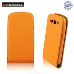 Kaitseümbris Forcell Flexi Slim Flip / Apple iPhone 6, Oranž