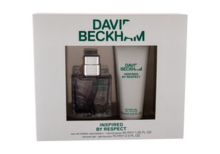 Komplekt David Beckham Inspired by Respect meestele: EDT 40 ml + dušigeel 75 ml