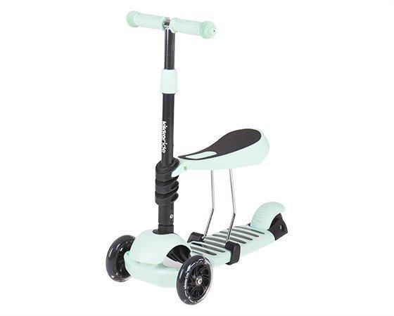 Tõukeratas Kikkaboo Scooter 3 in 1, roheline