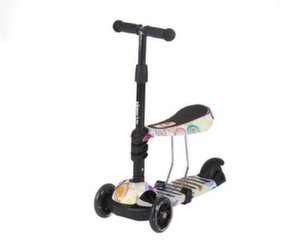 Tõukeratas Kikkaboo Scooter 3 in 1 Ride and Skate Circles