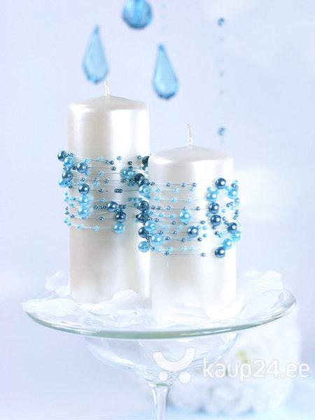 Жемчужная гирлянда Turquoise 1,3 м (1 упаковка/ 5 шт)
