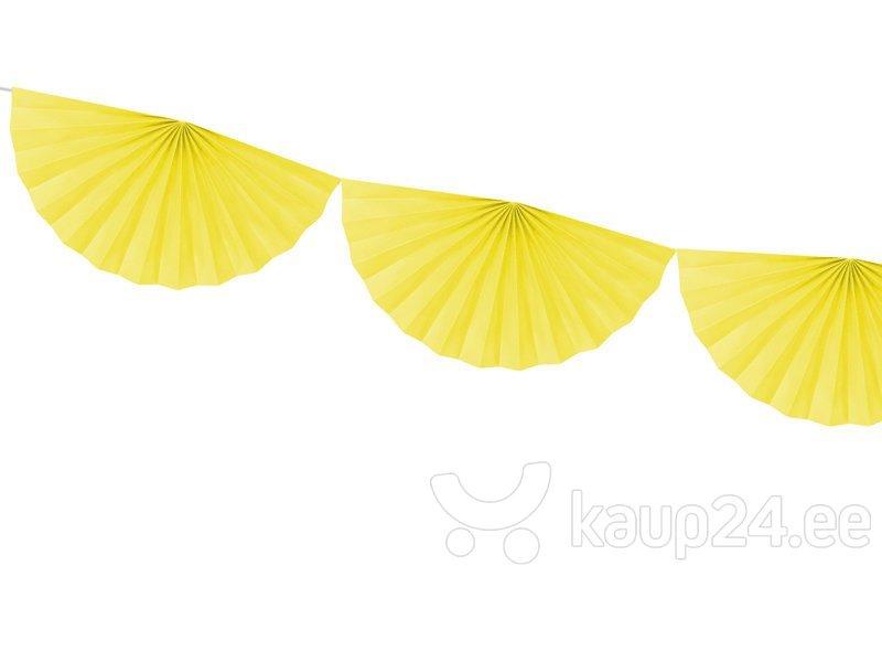 Гирлянда Rosettes Yellow 30 см х 3 м