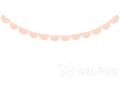 Гирлянда Fringe Light Peach 20 см x 3 м